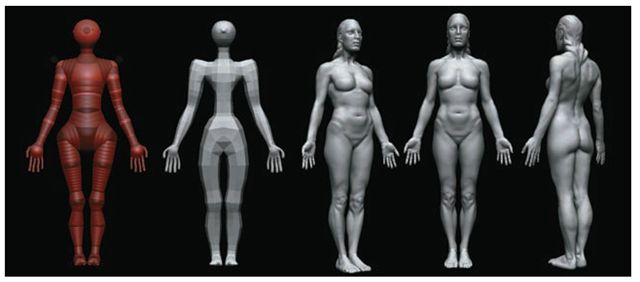 Building a ZSphere Biped (ZBrush Character Creation) Part 3