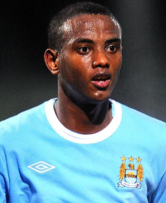 Abdisalam Ibrahim, Norwegian born in Somalia footballer who plays for Manchester City and Norway National Football Team. He's a midfielder and he won 1 Tippeligaen on 2013 with Stromgodset