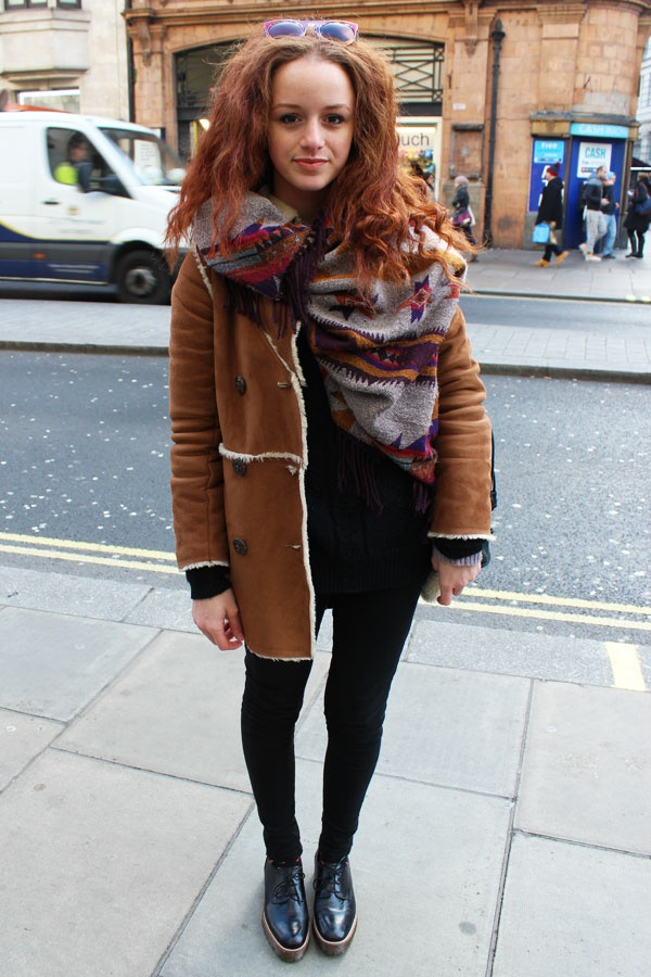 We Love This Boho Chic In Winter Look Style Kudos