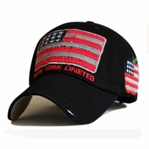 ed36dde9d008e Cozy American Flag baseball cap for cool caps