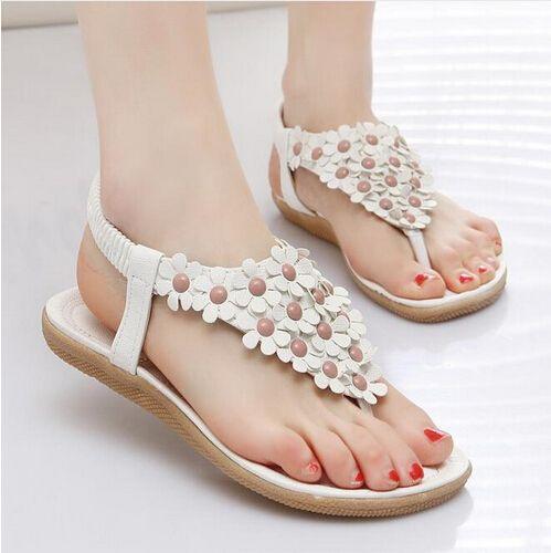 $7.38 (Buy here: https://alitems.com/g/1e8d114494ebda23ff8b16525dc3e8/?i=5&ulp=https%3A%2F%2Fwww.aliexpress.com%2Fitem%2FTEXU-Hotsales-Summer-Women-Sandals-2016-Fashion-Bohemia-Women-s-Shoes-Flower-Sandalias-Femininas-Casual-Thong%2F32636415322.html ) TEXU White 2016 New Sandalias Soft Leather Sloe Flat Sandals Flower Decoration Women Flip Flop Beach Sandal Wholesale Lady Shoes for just $7.38