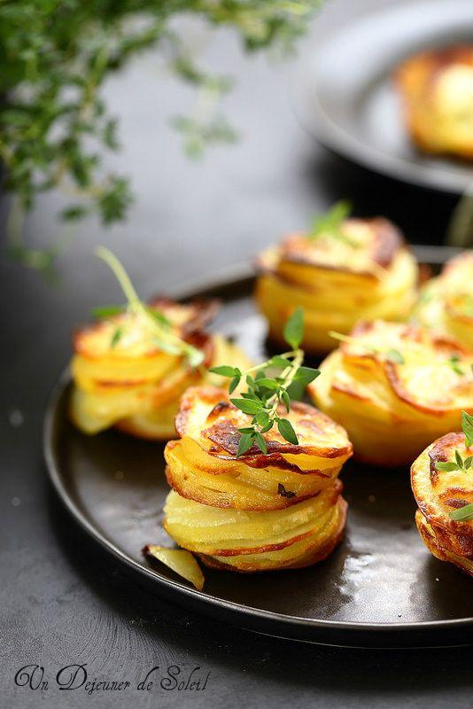 Un dejeuner de soleil: Gratin de pomme de terre individuel