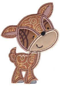 Embroidery | Free Machine Embroidery Designs | Bunnycup Embroidery | Forest Animals Applique