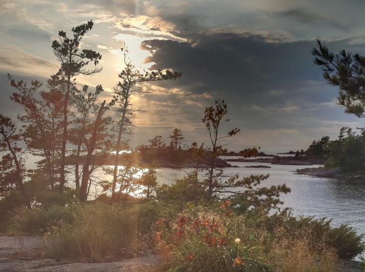 Georgian Bay, Ontario, Canada is where I want to retire.