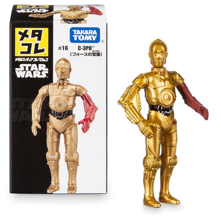 C-3PO Mini Metal Action Figure by Takara Tomy - Star Wars: The Force Awakens