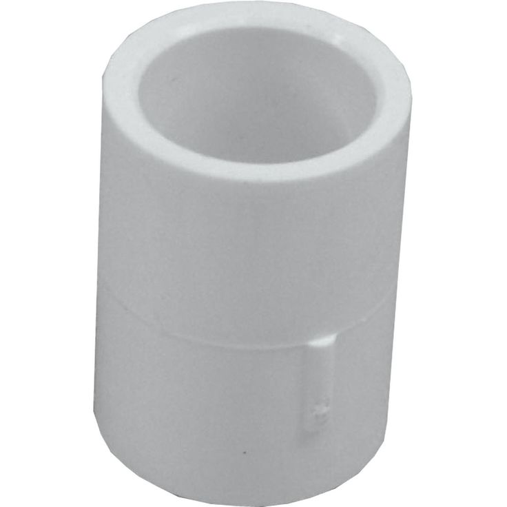 """Genova Products 30105CP 10-count 1/2"""" PVC Coupling"""