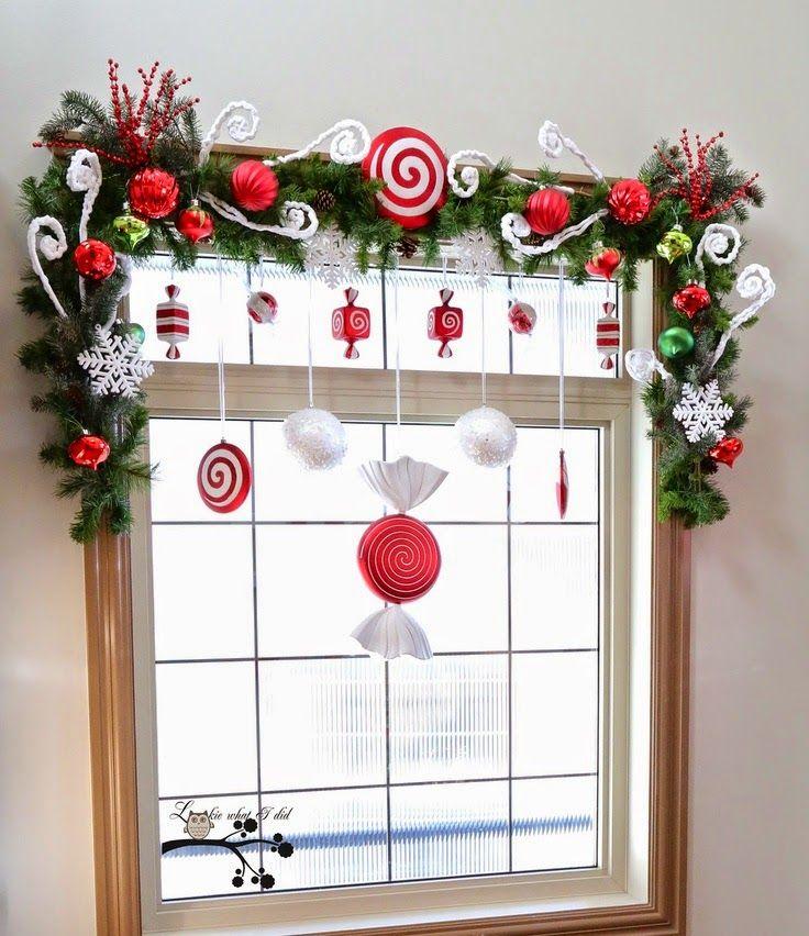 encuentra este pin y muchos ms en puertas y ventanas en navidad de redpositiva