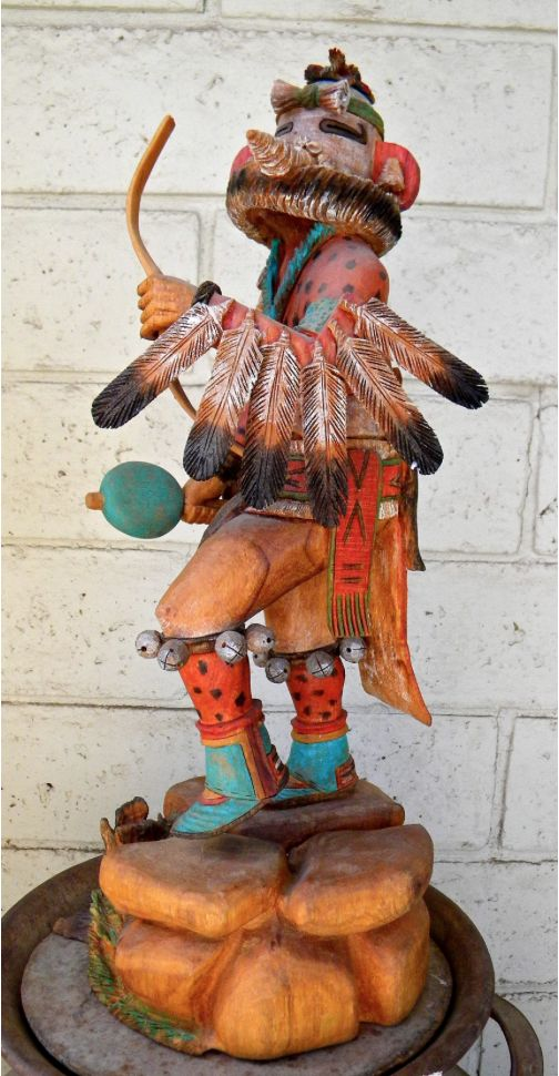 recipe: hopi eagle dancer kachina [35]