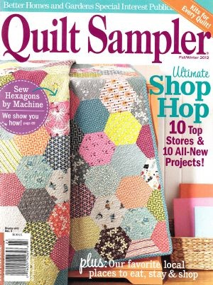 88 best favorite quilt magazines books images on pinterest books quilt sampler fallwinter 2012 fandeluxe Image collections
