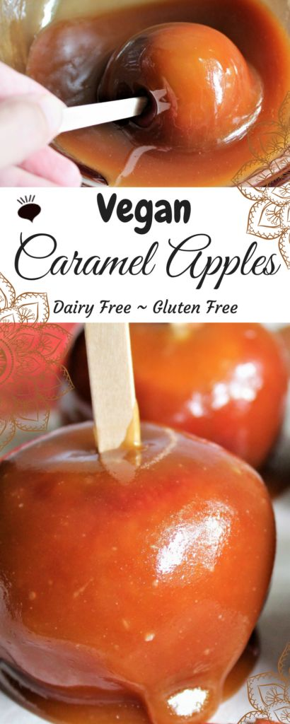 Vegan Caramel that actually tastes like regular caramel! No coconut milk or coconut flavor, just sweet, delicious caramel that you can use for dipping, drizzling and making caramel apples! Yum! thehiddenveggies.com