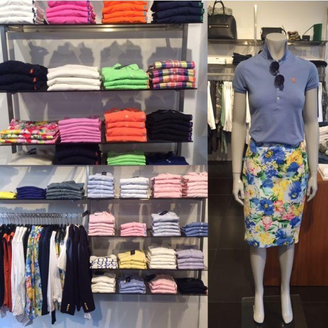 Sommer, farver , blomster,  #RalphLauren har det hele.  Strik,skjorter,jeans,polo,t-shirt, kjoler,nederdel,blazer, shorts.  Se det hele hos FLOT www.flot.nu God dag!!!!'