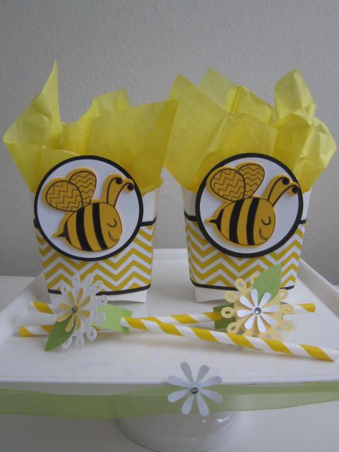 Bumble Bee Birthday Party Favors Favor By ByAdalynn