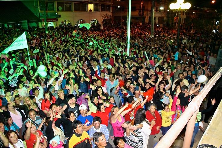 Los sanvicentanos celebran la liberación
