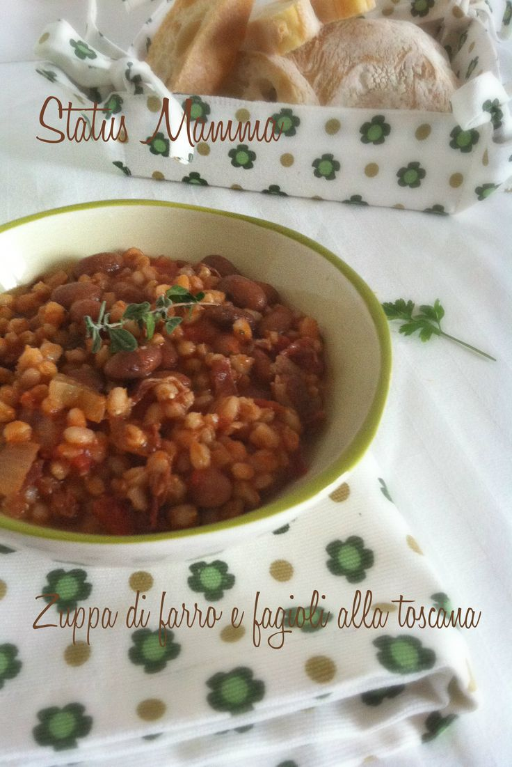 Zuppa di farro e fagioli alla toscana