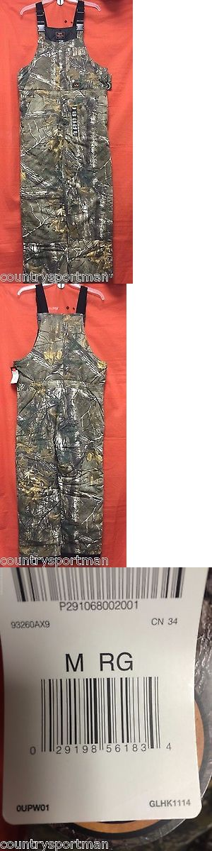 Coveralls 177869: Walls Legend Insulated Bib Mens (M Rg) #93260Ax9 Realtree Xtra (Ax9) BUY IT NOW ONLY: $53.99