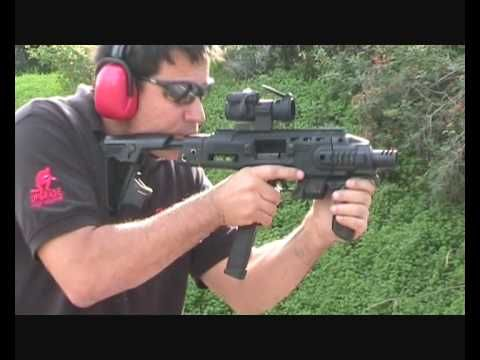 CAA TACTICAL - #RONI - The pistol-carbine conversion.. You Know I want one Of these!!!