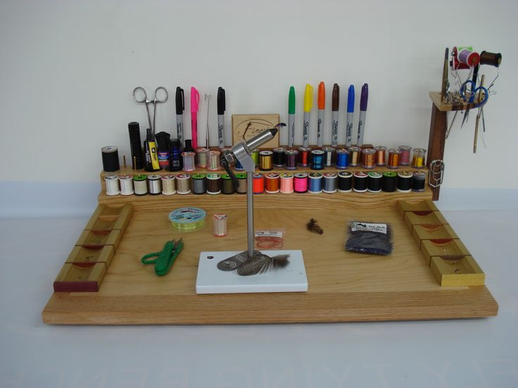 Ways to set up your new bench |Fly Tying Bench Store
