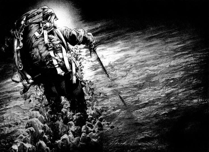 The Climber  Art: Shinichi Sakamoto