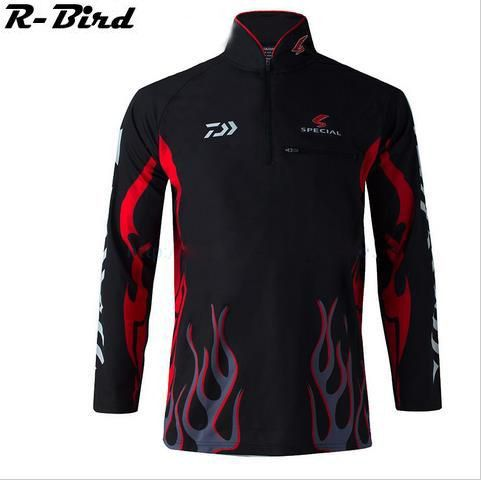 2016 Daiwa/Dawa Fishing clothing New Brand Camisa UV UPF>50 Breathale Sunscreen Quick-drying Anti-UV Long Sleeve Shirts A41