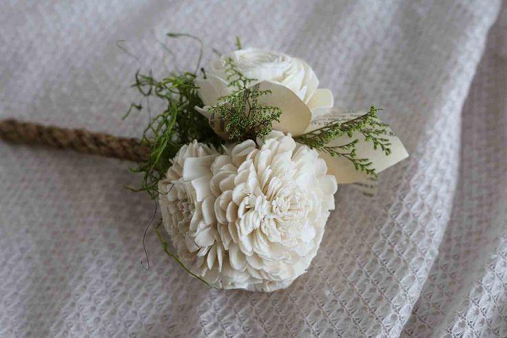 Boho Lily Bridesmaid Bouquet – Eco Flower