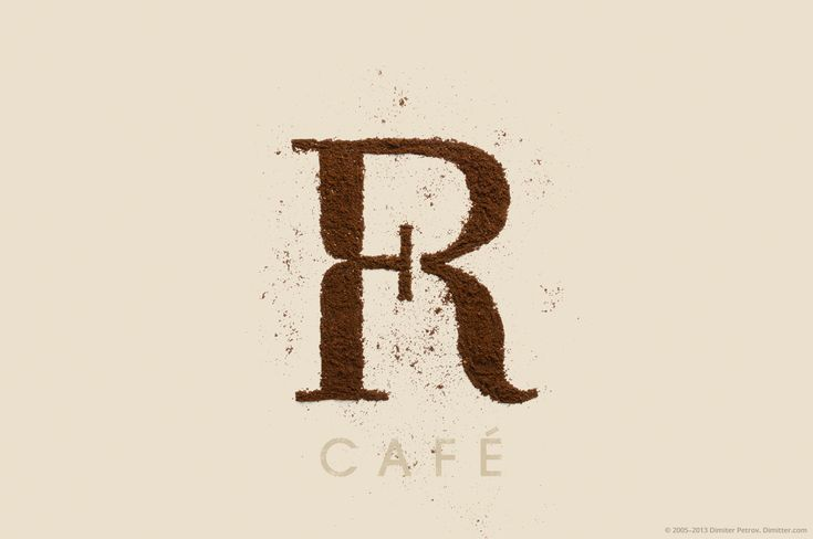 Foyer café logo design.