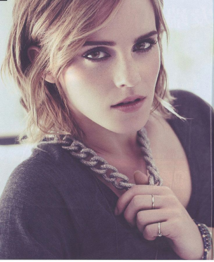 Emma Watson, hair and style