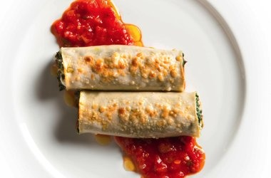 Cannelloni with Swiss Chard and Fresh Goat Cheese — Punchfork