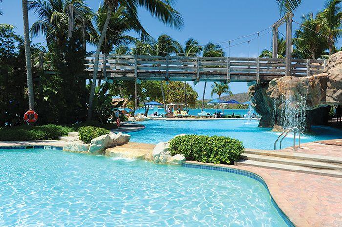 Relax poolside at Dreams Sugar Bay St. Thomas!