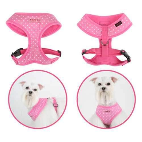Dotty Adjustable Dog Harness By Puppia