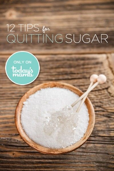 12 Tips for Quitting Sugar.