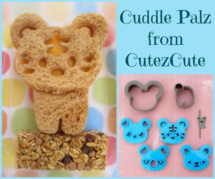 BentoLunch.net - New CuddlePalz Cutter and Extra Cute #Bento Lunch