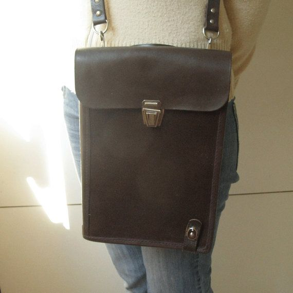 Unused Vintage Leather Bag, Retro Handbag, Messenger Men Bag, Vintage Army Bag, Handbag for Men, Brown Leather Bag, Genuine Leather Bag https://www.etsy.com/shop/MyBootSale