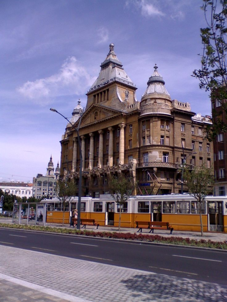 The Anker House on Deák Square in downtown Budapest.