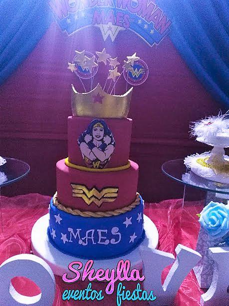 Torta mujer maravilla, Wonder woman
