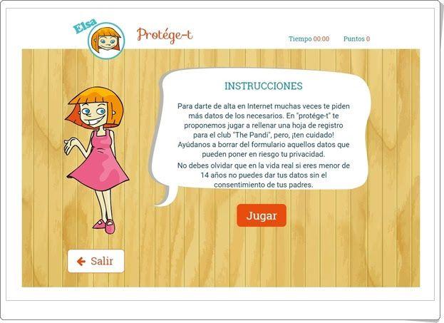 """""""Pandijuegos"""" de chaval.es (Protección en Internet)"""