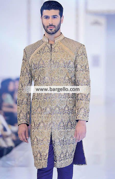 #Menswear Sherwani #Elegant #Bespoke #Sherwani Suit For #Mens #farazmanan #wedding sherwani suit visit