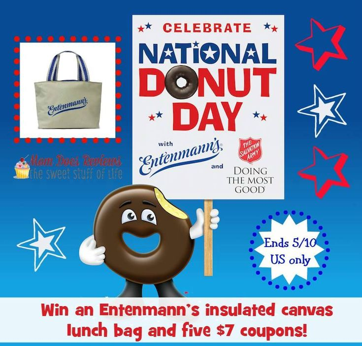Entenmann's National Donut Day Prize Pack Giveaway!! (ends 5/10)
