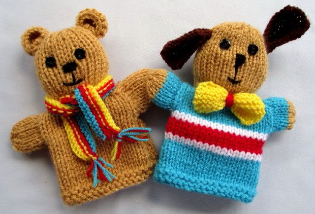 Cable Mittens Knitting Pattern : 208 best images about Hand Puppets on Pinterest Felt puppets, Mouths and An...