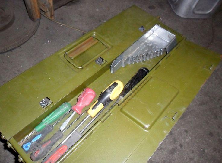 Инструментальный ящик и держатель для ключей