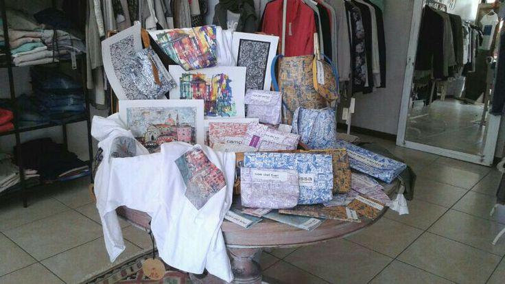 linea borse trousse porta i pad cover maglie felpe quadri www inHacca2o. it di scarpa mauro
