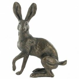 Buttercup Standing- Bronze Hare