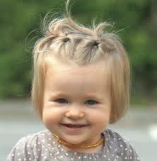 photo de coiffure simple bébé fille,  #bébé #coiffure #de #fille #photo #simple,