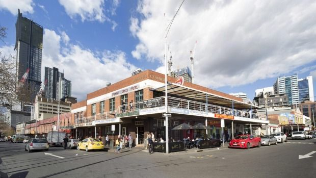 The relentless rise of tall towers appears set to encroach on the doorstep of Melbourne's famed Queen Victoria Market.