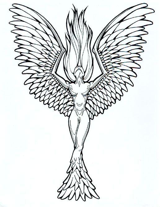 phoenix tattoos for women | tattoo designs phoenix 04