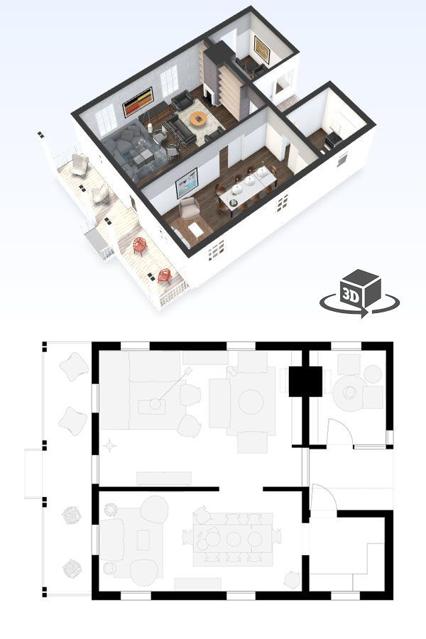 Small Office Floor Plan In Interactive 3d Get Your Own 3d Model Today At Http Planto3d Com Office Floor Plan Floor Plan Design Floor Plan Layout