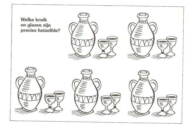 Johannes 2: Bruiloft te Kana. Welke Kan en glazen zijn precies hetzelfde?