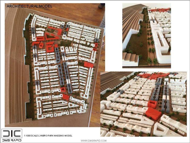 Lynbro Park massing model