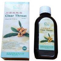 Mišpulníkový sirup - Clear Throat syrup - kod 20377- doplněk stravy