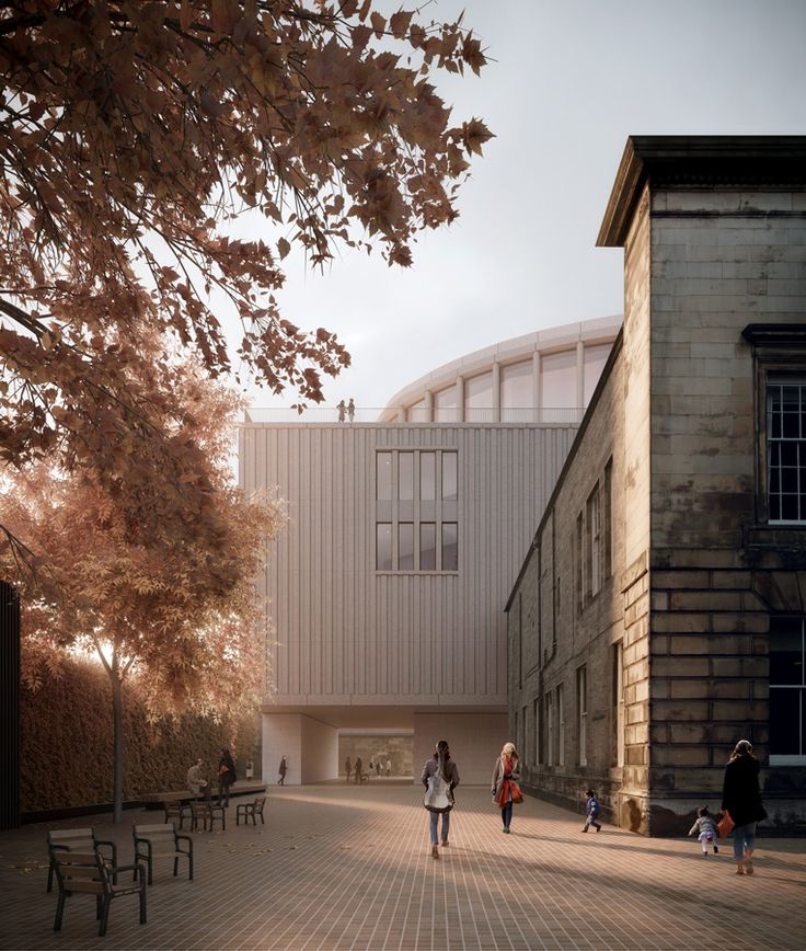 David Chipperfield Architects - Edinburgh music venue (The ...