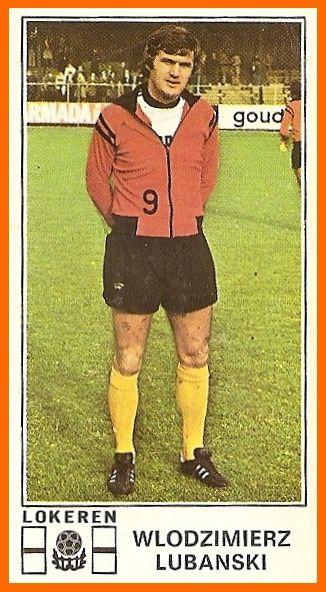 Włodzimierz 'Włodek' Lubański (KSC Lokeren Oost-Vlaanderen, 1975–1982, 196 apps, 82 goals)